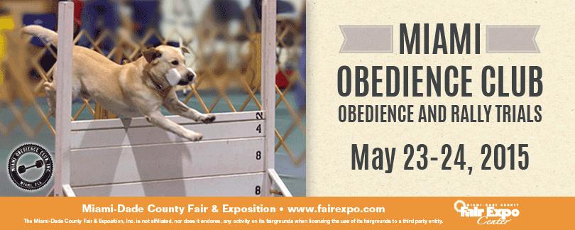 Miami Obedience Club Dog Show