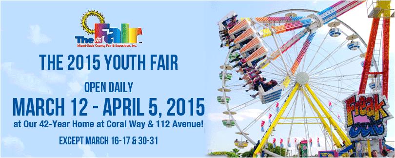 2015 Fair dates