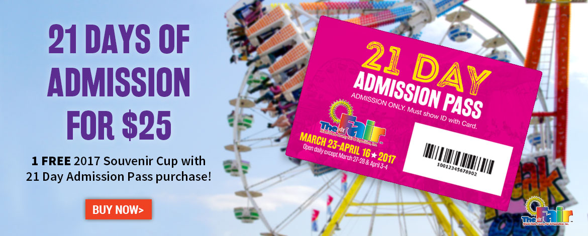 21-Day Admission Pass