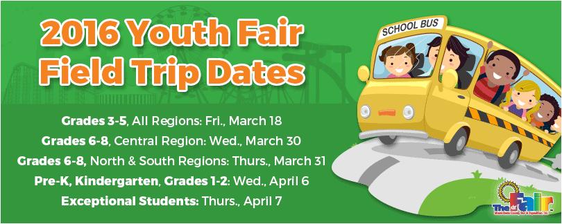 Field Trip Dates