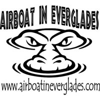 Airboat In Everglades