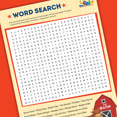 Image for Fair-Themed Word Searches
