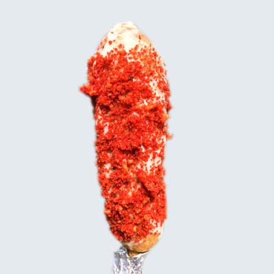 Flaming Hot Cheeto Corn Dog image