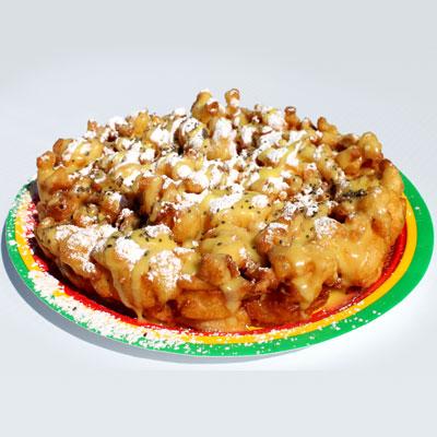 Lemon Poppyseed Funnel Cake image